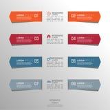 Mehrfarbiges Papieraufklebervolumen mit Zahlen und Zeichen Lizenzfreies Stockbild