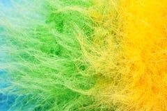 Mehrfarbiges Polyester stockbild