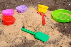 Mehrfarbiges Spielzeug Stockfoto