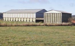 Mehrfunktionale landwirtschaftliche Gebäude lizenzfreie stockfotos