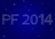 Mehrsprachige PF 2014 Lizenzfreies Stockbild