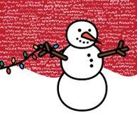 Mehrsprachige Weihnachtsszene Lizenzfreie Stockbilder