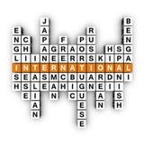 Mehrsprachiges Konzept Stockbilder