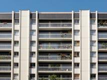 Mehrstöckiges Gebäude Stockfotos