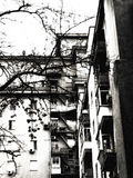 Mehrstöckiges Gebäude Stockbild
