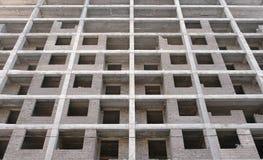 Mehrstöckiges Wohngebäude im Bau Lizenzfreie Stockfotografie