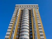 Mehrstöckiges Wohnhaus Stockfoto