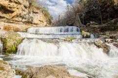 Mehrstufiger Wasserfall Lizenzfreie Stockfotografie