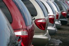 Mehrzweckfahrzeuge für Verkauf Lizenzfreies Stockbild