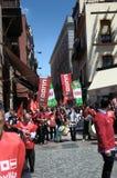 1 Mei-demonstratie 53 Stock Afbeelding