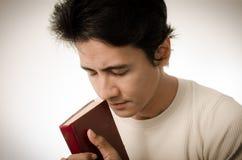 Mei-het bidden Stock Fotografie