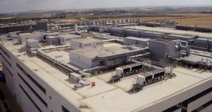 Mei 2016 Luchtlengte van Intel die plaats in Israël vervaardigen stock videobeelden