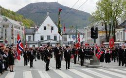 17 mei, 2016: Nationale dag in Noorwegen Royalty-vrije Stock Foto's