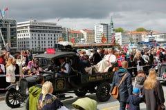 17 mei, 2016: Nationale dag in Noorwegen Stock Afbeelding