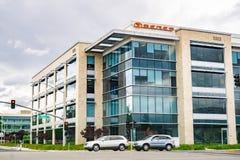 15 mei, 2019 Santa Clara/CA/de V.S. - Seres die vroeger als SF Motors Inc, de bureaus van de elektrische voertuigenproducent in S stock afbeeldingen