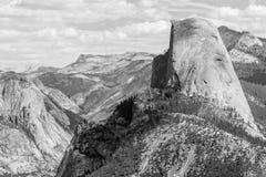 Meia abóbada no parque nacional de Yosemite, Califórnia, EUA Foto de Stock