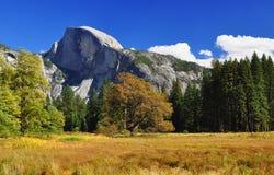 Meia abóbada, parque nacional de Yosemite Foto de Stock Royalty Free