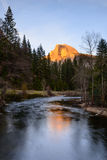 Meia abóbada, parque nacional de Yosemite Imagens de Stock