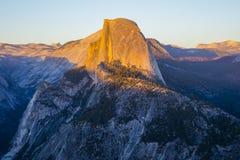 Meia abóbada, parque nacional de Yosemite Fotos de Stock Royalty Free