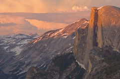 Meia abóbada Yosemite Imagens de Stock