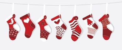 Meia do Natal Foto de Stock Royalty Free