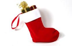 Meia do Natal Imagem de Stock