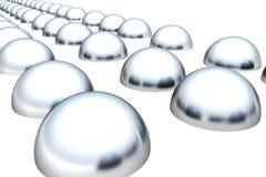 Meia esfera ilustração stock