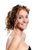 Meia face. imagem de stock royalty free