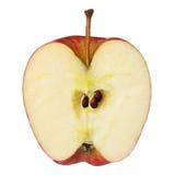 Meia maçã imagem de stock royalty free