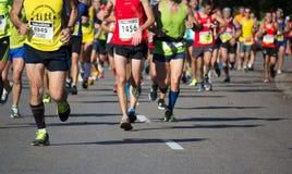 Meia maratona foto de stock