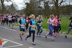 Meia maratona 2017 da leitura - 19 de março de 2017 Imagem de Stock Royalty Free