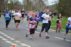 Meia maratona 2017 da leitura - 19 de março de 2017 Fotografia de Stock Royalty Free