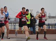 Meia maratona de Eastbourne fotografia de stock royalty free