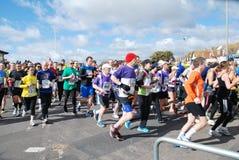 Meia maratona de Hastings, 2014 Fotografia de Stock