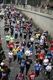 Meia maratona de Hervis Praga Imagem de Stock