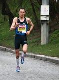 Meia maratona de Hervis Praga foto de stock royalty free