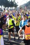 Meia maratona de Roma-Ostia Imagem de Stock Royalty Free
