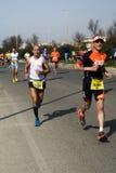 Meia maratona de Roma-Ostia Fotos de Stock Royalty Free