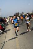 Meia maratona de Roma-Ostia Imagem de Stock