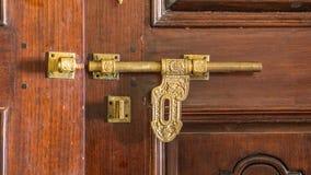 Meia porta indiana aberta Foto de Stock