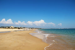 Meia Praia beach, Lagos, Portugal Royalty Free Stock Photos