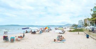 Meia Praia, Itapema SC, Brazil stock photography