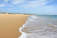 Meia Praia, Lagos, Algarve, Portugal Royalty Free Stock Photography