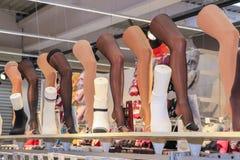 Meias de rayon e calças justas Foto de Stock