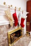Meias do Natal Fotos de Stock Royalty Free
