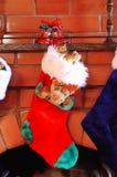 Meias do Natal fotografia de stock royalty free