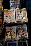 MEIDA SUÉDOIS _SWEDEN DANS la crise POLITIQUE Photographie stock libre de droits