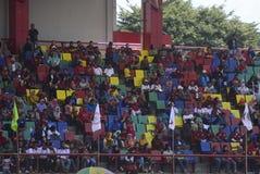 Meidag in de Stad van Semarang Stock Afbeelding