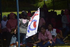 Meidag in de Stad van Semarang Royalty-vrije Stock Foto's