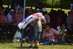 Meidag in de Stad van Semarang Royalty-vrije Stock Afbeelding